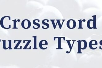 Crosswords Puzzle Types