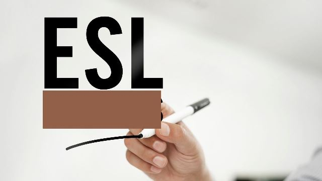 ESL Meaning