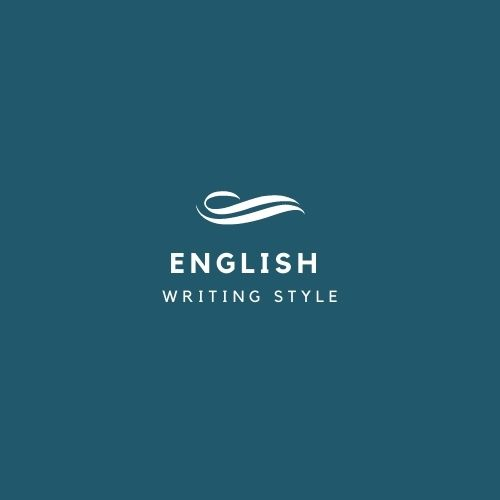 English Writing Style